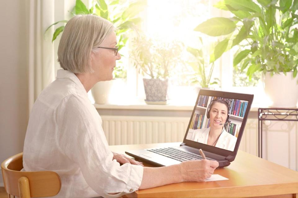 When you're stressed out, talking to a therapist is an easy way to get healthier in no time. And thanks to the internet, you don't even have to go into an office to receive therapist's services; teletherapy lets you reap the same benefits right in the privacy of your own home.