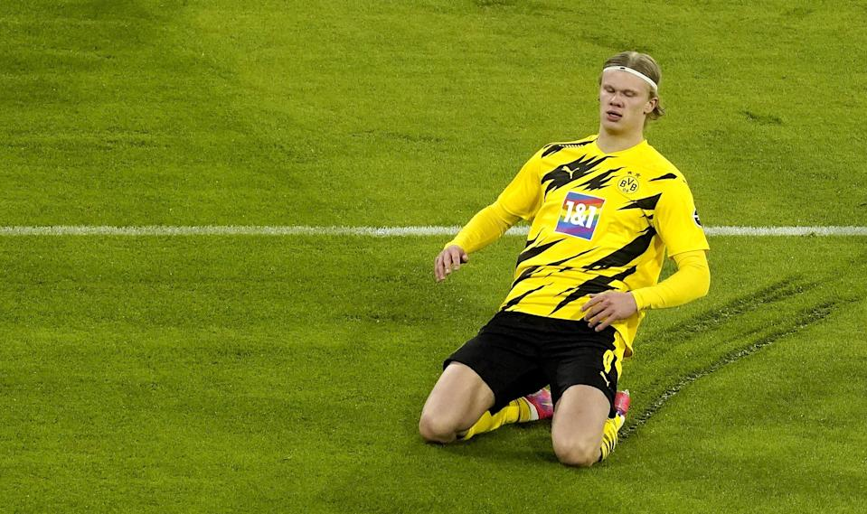 Erling Haaland has been in prolific form for Borussia DortmundEPA