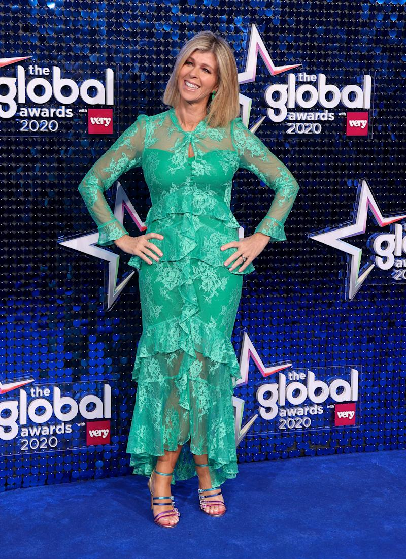 Kate Garraway wears affordable Very dress at Global Awards
