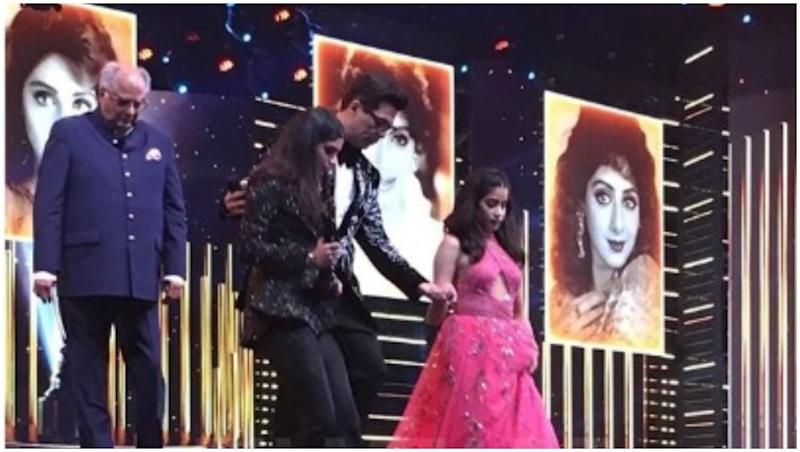 64th Vimal Filmfare Awards 2019: Sridevi Given a Tribute at the Ceremony In Presence of Boney, Janhvi and Khushi Kapoor - View Pic