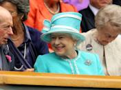 The Queen graced the tournament with her presence for the first time in 33 years in 2010. People lined the streets to welcome her. <em>[Photo: PA]</em>
