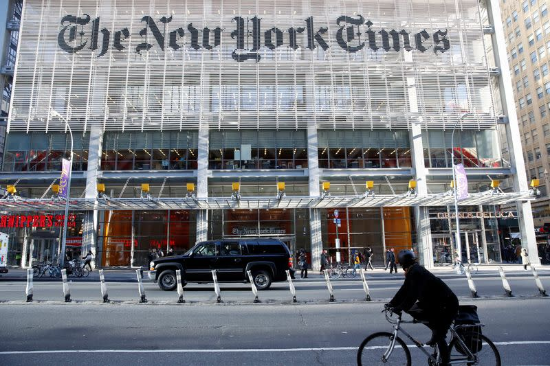 New York Times opinion editor resigns after column controversy