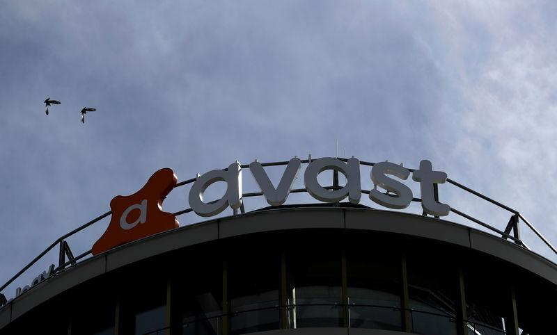 The logo of Avast Software company is seen at its headquarters in Prague