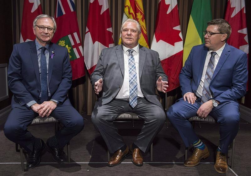 Ford, Moe and Higgs to announce deal on development of small nuclear reactors