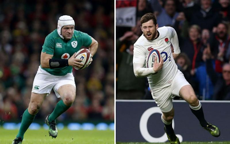 Rory Best will be hoping to spoil Elliot Daly's day on Saturday - REX