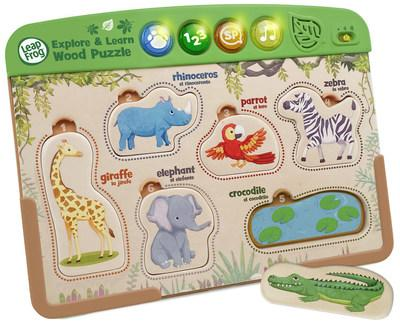 Interactive Wooden Animal Puzzle™