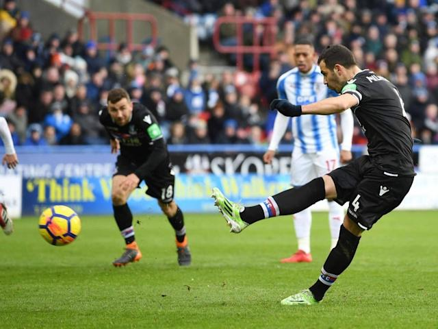 Crystal Palace halt four-match losing run with win at Huddersfield to climb out of bottom three