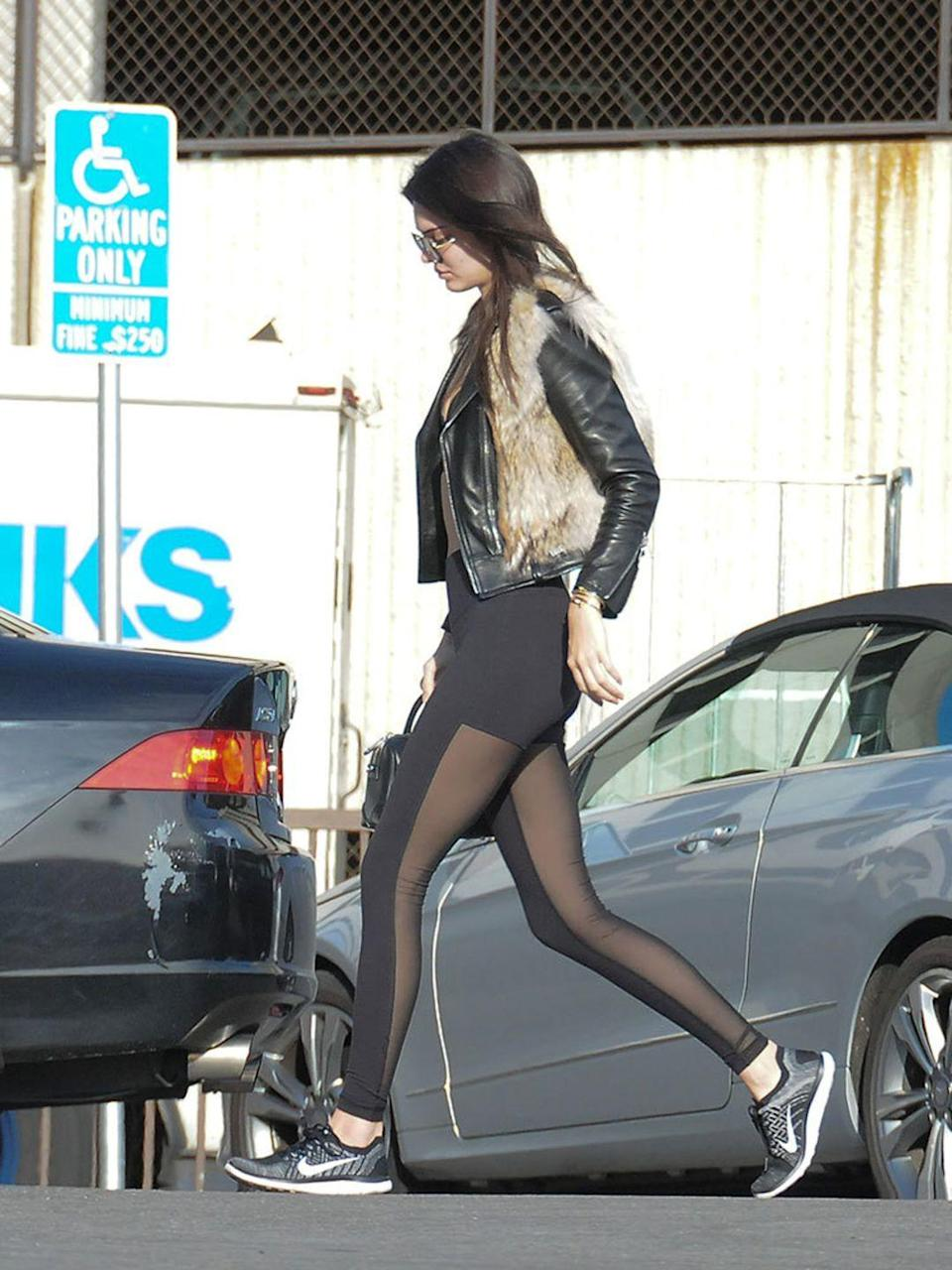 <p>Kendall Jenner spotted in LA, January 2016</p>