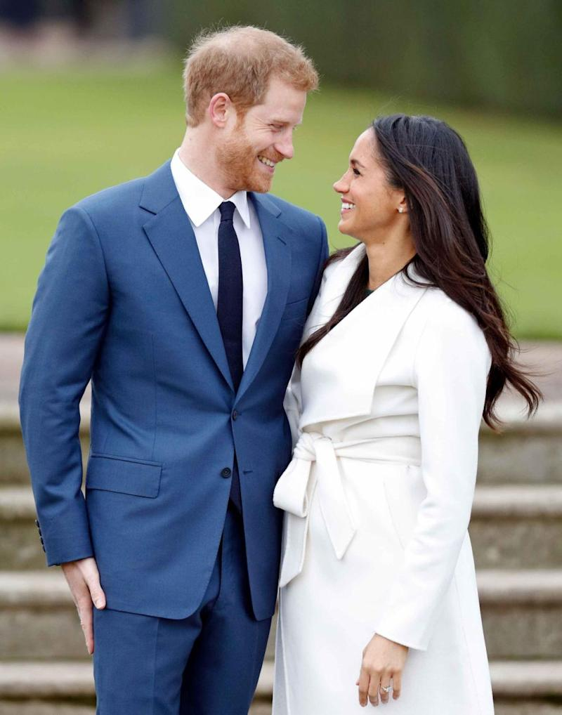 Prince Harry and Meghan Markle announced their engagement on Monday. Source: Getty