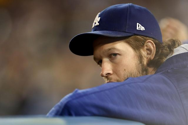 "<a class=""link rapid-noclick-resp"" href=""/mlb/players/8180/"" data-ylk=""slk:Clayton Kershaw"">Clayton Kershaw</a> is making $215 million on his current contract and it's still a steal for the Dodgers. (Getty Images)"