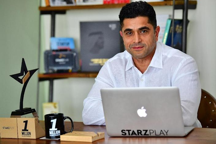 Starz Play, with its one million subscribers, has sought to bring more relevant Arabic content to audiences during Ramadan, when television viewing traditionally spikes (AFP Photo/GIUSEPPE CACACE)