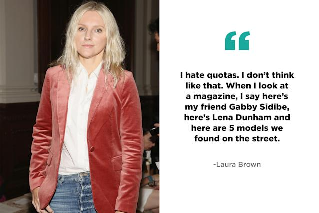 Laura Brown, editor-in-chief, InStyle. (Photo: Getty, Art: Quinn Lemmers for Yahoo Lifestyle)