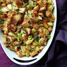 """<p>Sweet caramelized onions and apples add delicious depth of flavor to this easy Thanksgiving side.</p><p><a href=""""https://www.womansday.com/food-recipes/food-drinks/recipes/a12383/caramelized-onion-stuffing-apples-sage-recipe-wdy1113/"""" rel=""""nofollow noopener"""" target=""""_blank"""" data-ylk=""""slk:Get the Caramelized Onion Stuffing with Apples and Sage recipe."""" class=""""link rapid-noclick-resp""""><em><strong>Get the Caramelized Onion Stuffing with Apples and Sage recipe.</strong></em></a></p>"""