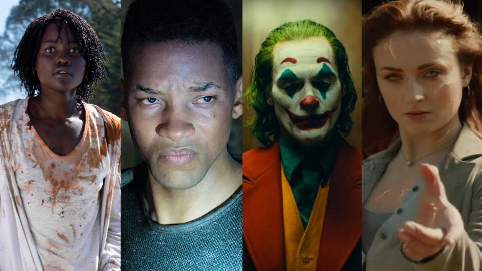 The biggest box office successes and failures of 2019.