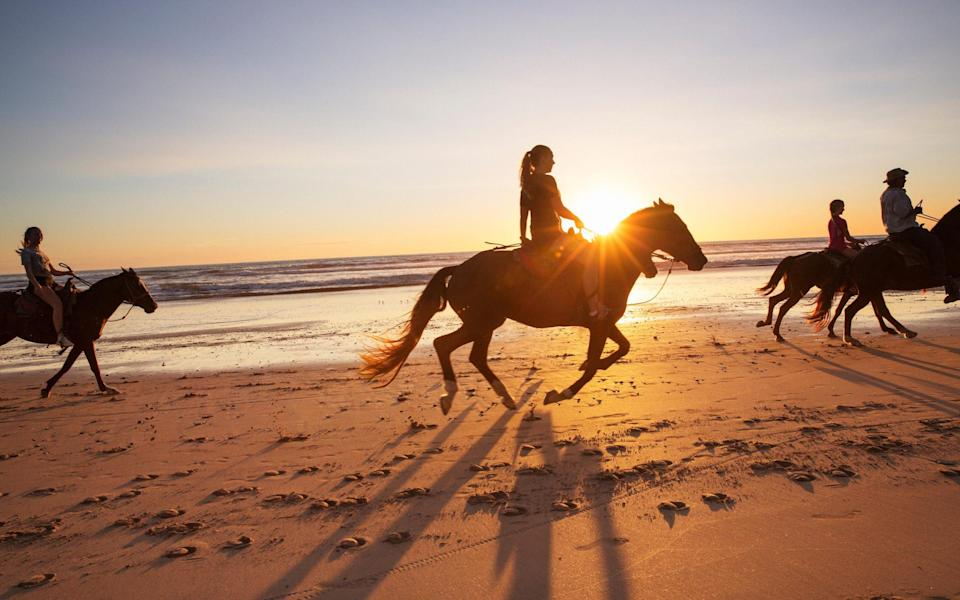 Embrace the freedom and fresh air of a horseriding holiday - Getty