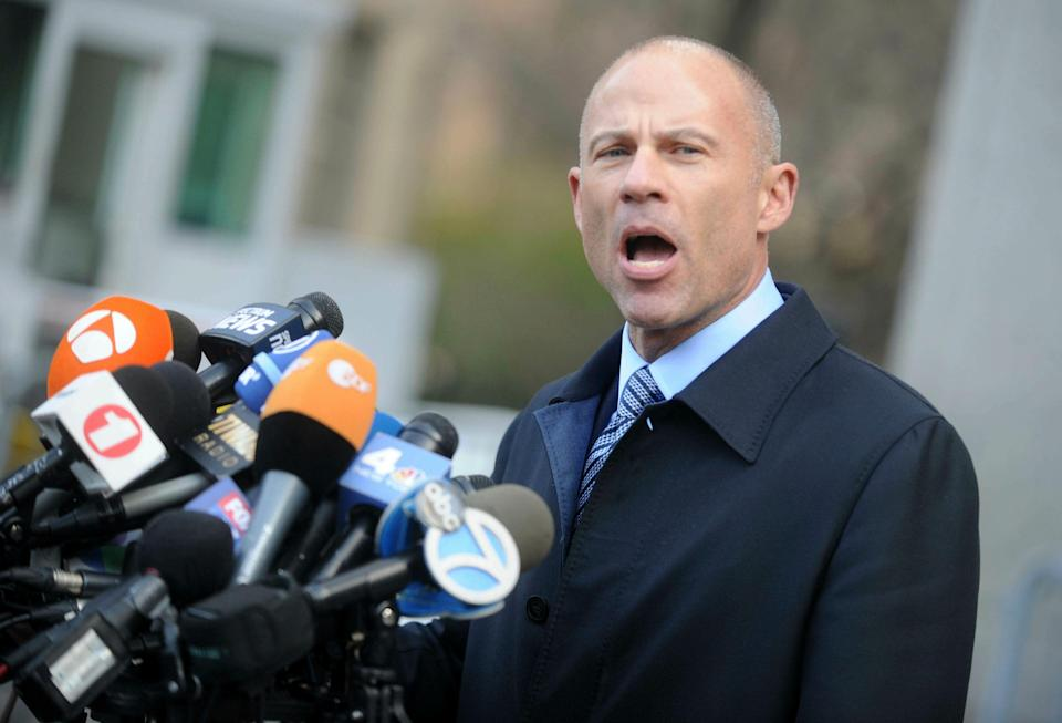 Photo by: Dennis Van Tine/starmaxinc.com STAR MAX ©2019 ALL RIGHTS RESERVED Telephone/Fax: (212) 995-1196 3/25/19 Michael Avenatti to be charged in alleged shakedown of Nike. (STAR MAX File Photo)