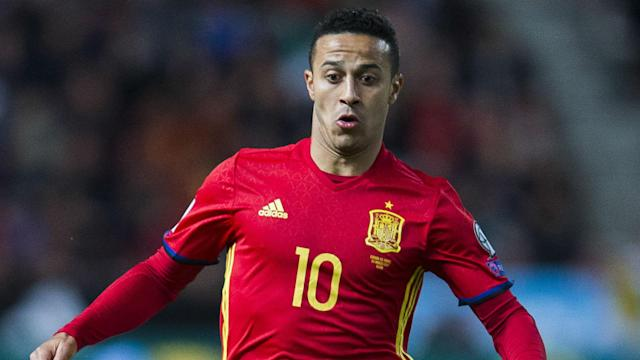 He missed out on Brazil 2014 due to injury so Thiago Alcantara was delighted to seal qualification for next year's World Cup with Spain.