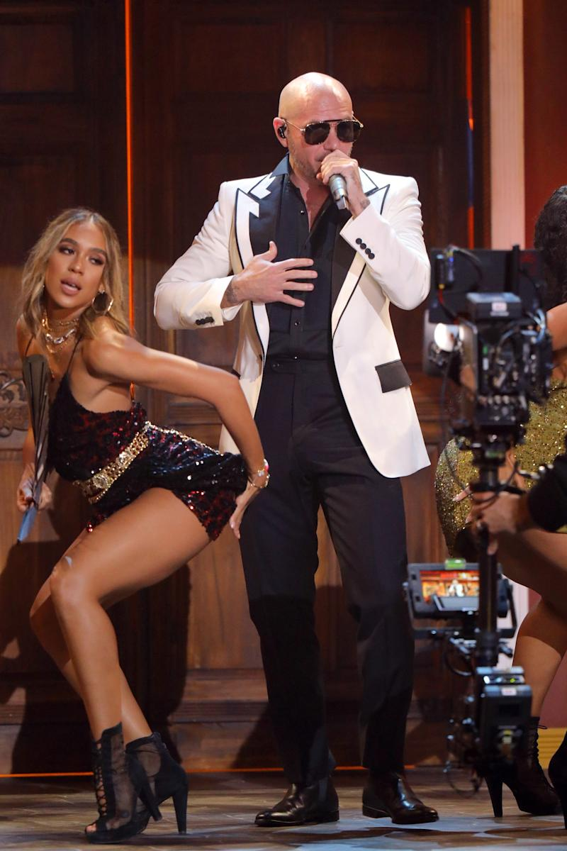 Pitbull is planning four pay-per-view concerts this fall.