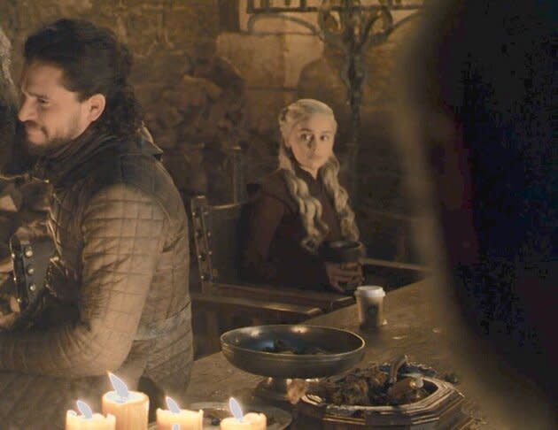 A rogue coffee cup turned up in Game Of Thrones