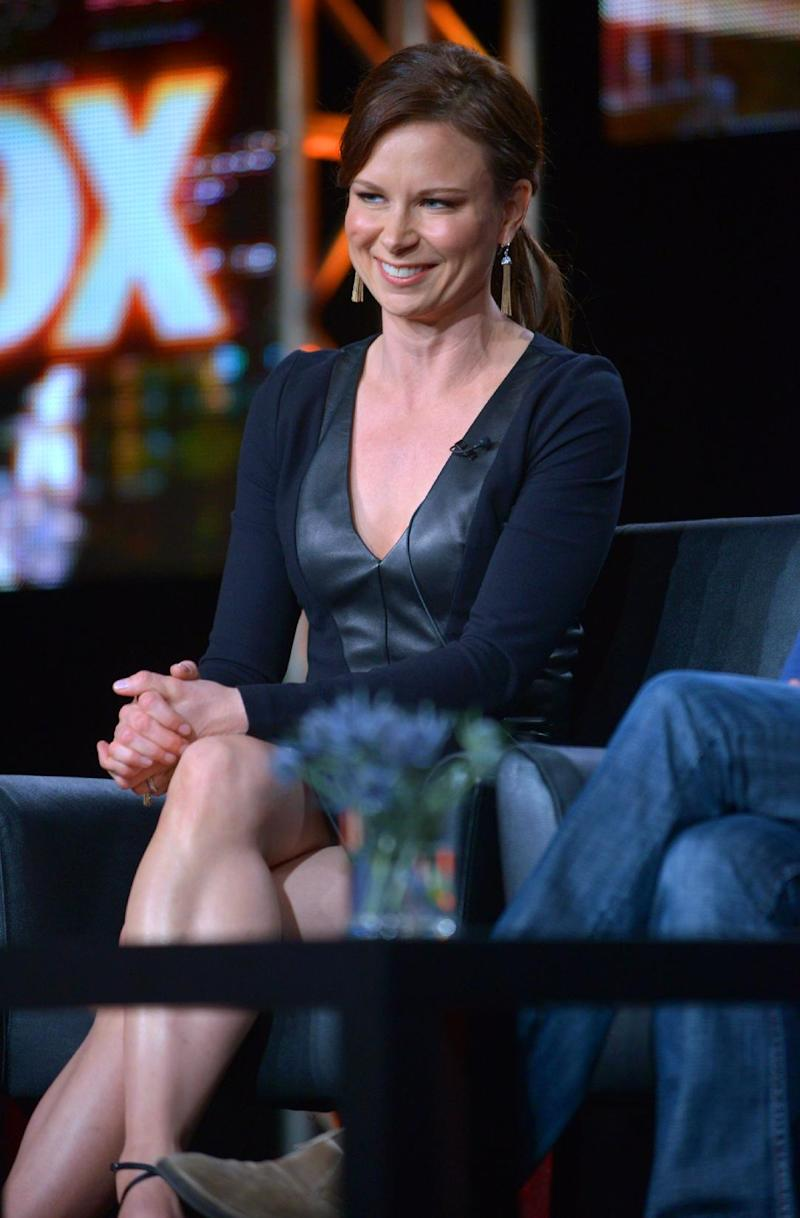 """Mary Lynn Rajskub attends the panel for """"24: Live Another Day"""" at the FOX Winter 2014 TCA, on Monday, Jan. 13, 2014, at the Langham Hotel in Pasadena, Calif. (Photo by Richard Shotwell/Invision/AP)"""