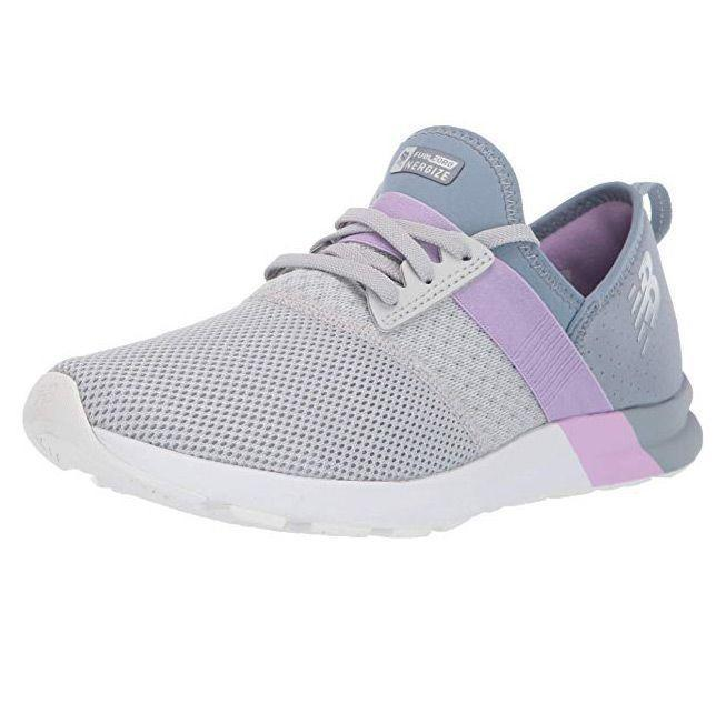 """<p><strong>New Balance</strong></p><p>amazon.com</p><p><strong>$51.97</strong></p><p><a href=""""https://www.amazon.com/dp/B005ATND1O?tag=syn-yahoo-20&ascsubtag=%5Bartid%7C10055.g.26960479%5Bsrc%7Cyahoo-us"""" rel=""""nofollow noopener"""" target=""""_blank"""" data-ylk=""""slk:Shop Now"""" class=""""link rapid-noclick-resp"""">Shop Now</a></p><p>These New Balance sneakers are among the lightest we tested, and they were popular among our testers for providing great cushioning and a comfortable feel. These are Dr. Splichal's favorite sneakers, as <strong>they allow lots of freedom of movement with mesh in the front of the shoe.</strong> Testers also credited this front mesh for making them breathable and comfy over bunions.</p>"""