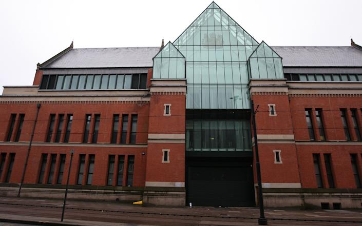 General view of Manchester Crown Court ,Minshull Street, in Manchester city centre.   (Photo by Dave Thompson/PA Images via Getty Images)