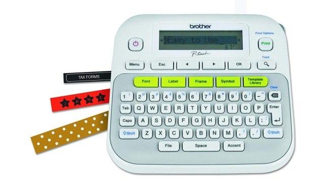 This label maker will make labeling addictive.