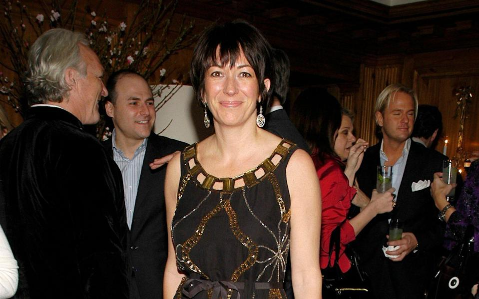Ghislaine Maxwell at a function in 2007 in New York City - Patrick McMullan