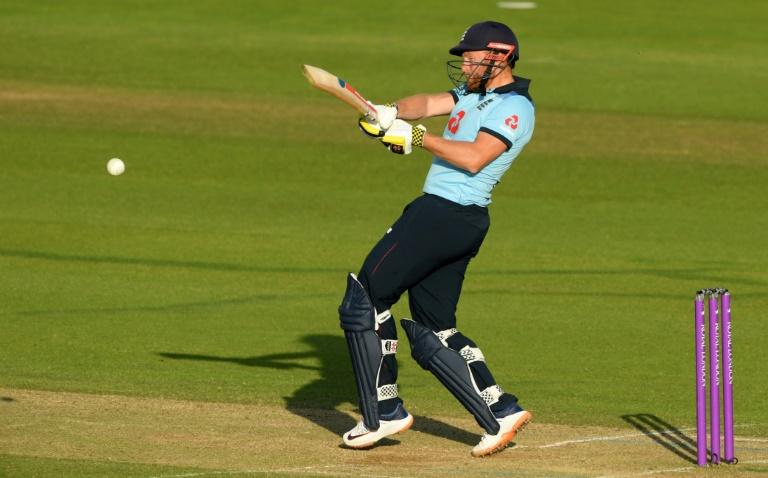 Rapid runs - England's Jonny Bairstow on the attack during his 41-ball 82 against Ireland in the 2nd ODI