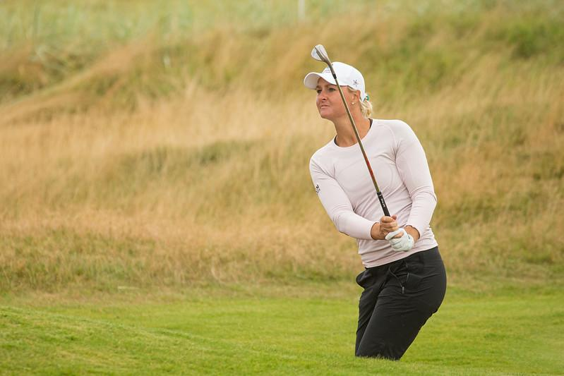 Sweden's Anna Nordqvist produced the best round of the week to move into a share of the third round lead at the AIG Women's Open (Tristan Jones/LET)