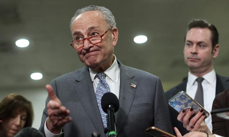 Senator Chuck Schumer: 'The average American is saying, why don't they want witnesses and documents?'