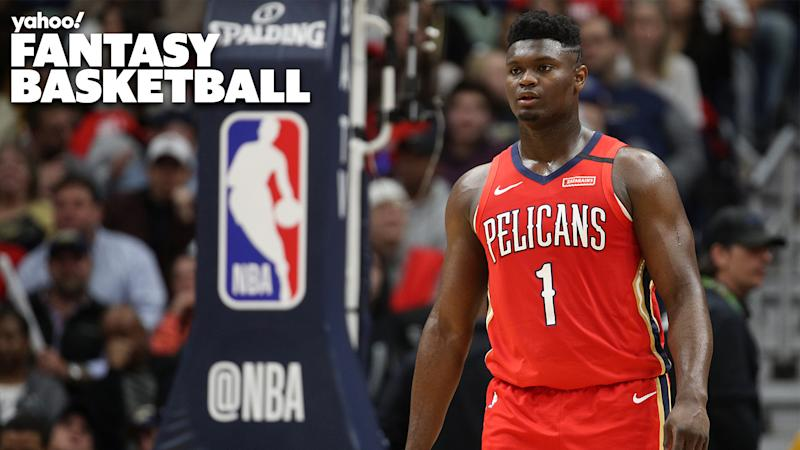 Zion Williamson makes his regular season debut for the New Orleans Pelicans.