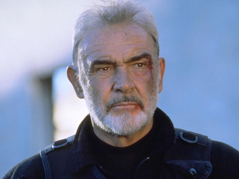 <p>Sean Connery in 'The Rock'</p>Rex Features