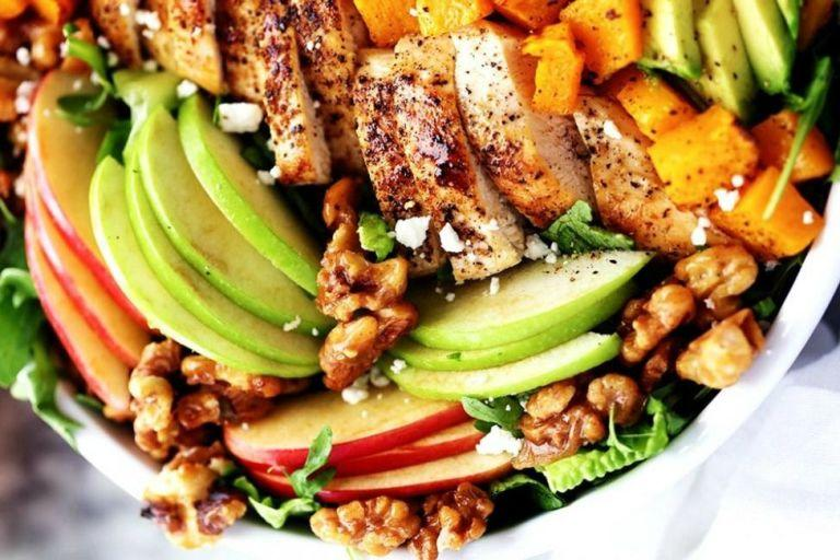 """<p>Here's how to make salads totally not boring once summer's over.</p><p>Make the most of fall produce while it lasts by trying these recipes to <a rel=""""nofollow"""">eat pumpkin for every single meal</a>.</p>"""