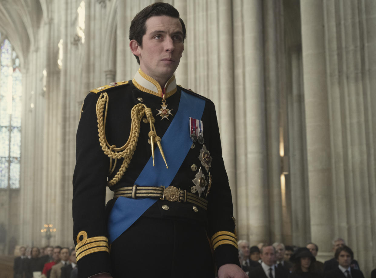 Josh O'Connor has played Prince Charles in the third and fourth series (Netflix/PA)