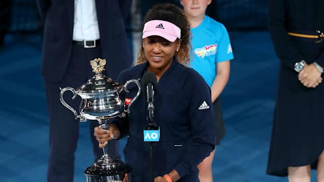 Robbed of her magic moment at the US Open, Naomi Osaka had her time in the spotlight after beating Petra Kvitova at the Australian Open.