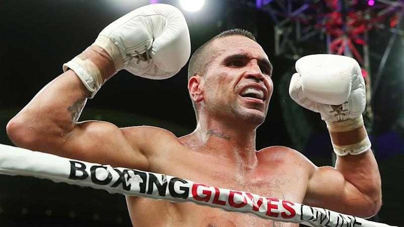 Anthony Mundine recently defeated Tommy Browne by KO. Pic: Getty