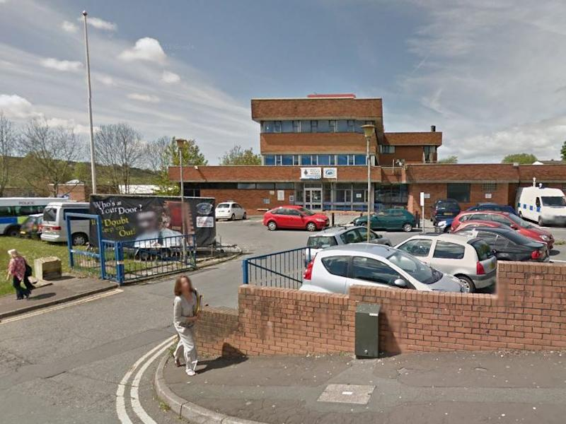 Cockett police station in Swansea: Google Street View