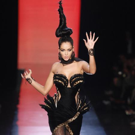 Jean Paul Gaultier needed 'couture' hair