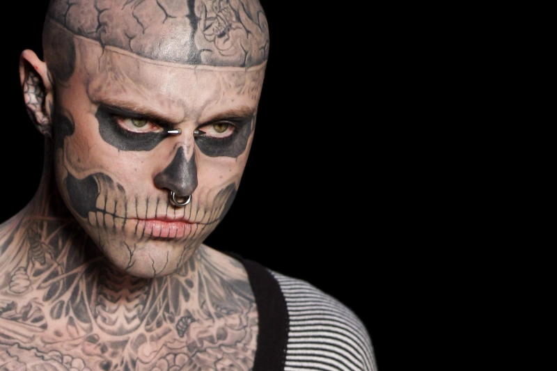 Lady Gaga Mourns Death of ''Born This Way'' Co-Star Rick Genest