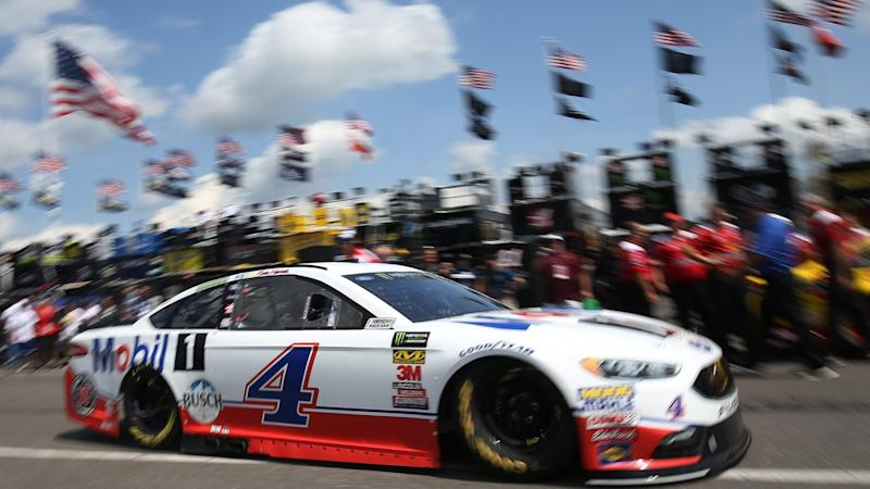Nascar Fails Top Two Qualifiers Kevin Harvick And Kyle Busch In