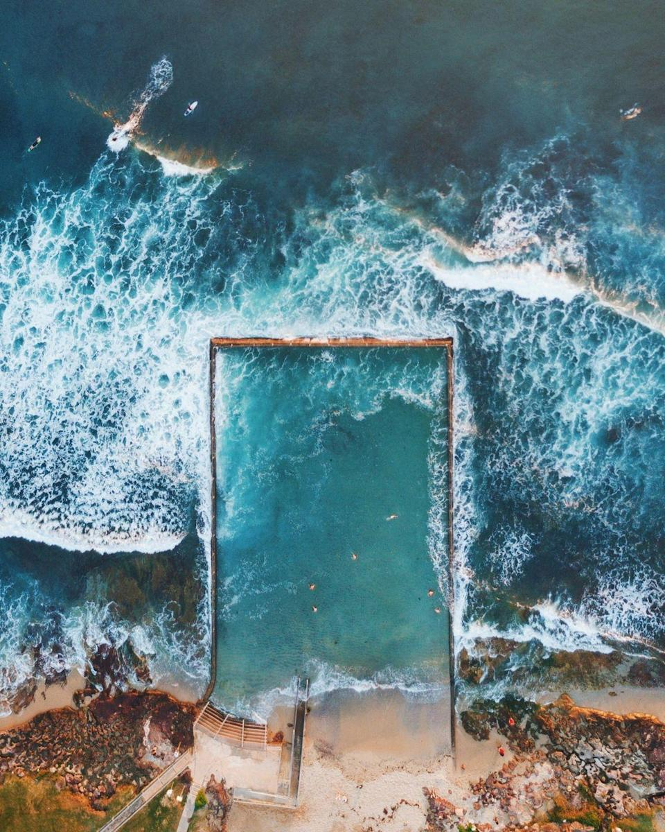 """<p>With so many nasty creatures lurking the seven seas, it's no wonder this barrier was constructed to create a <a href=""""https://www.abc.net.au/news/2018-06-07/sydneys-ocean-pools-who-built-them/9808500?nw=0"""" rel=""""nofollow noopener"""" target=""""_blank"""" data-ylk=""""slk:shark-free sea pool"""" class=""""link rapid-noclick-resp"""">shark-free sea pool</a> in Sydney, Australia. <br></p>"""