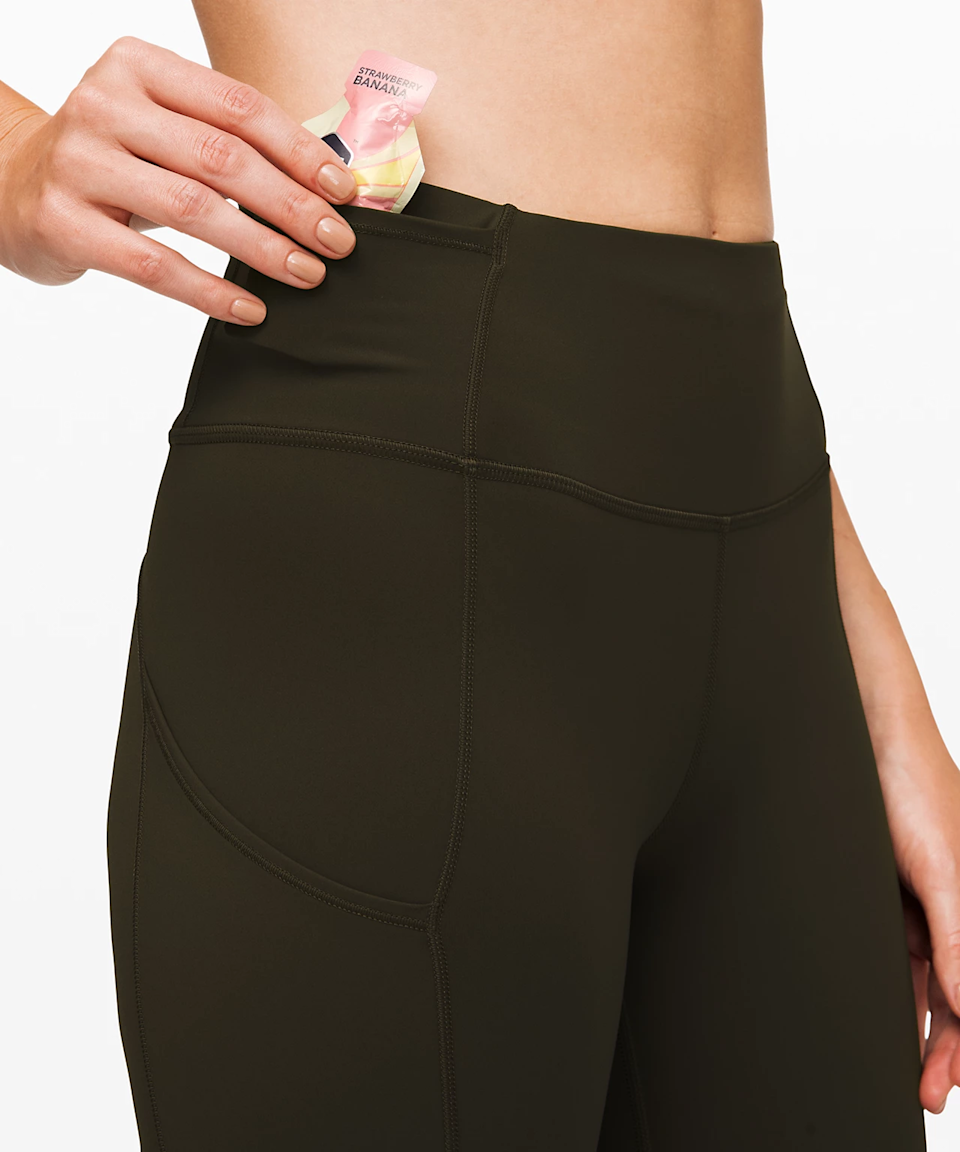 """<h3>Lululemon Fast And Free Tight II </h3><br><br>These premium running tights come equipped with sweat-wicking, unrestrictive, and multi-storage capabilities — there's a set of side pockets and an interior waistband pouch.<br><br><strong>lululemon</strong> Fast and Free Tight II 25"""", $, available at <a href=""""https://go.skimresources.com/?id=30283X879131&url=https%3A%2F%2Fshop.lululemon.com%2Fp%2Fwomen-pants%2FFast-And-Free-Tight-II-NR%2F_%2Fprod8960003"""" rel=""""nofollow noopener"""" target=""""_blank"""" data-ylk=""""slk:lululemon"""" class=""""link rapid-noclick-resp"""">lululemon</a>"""