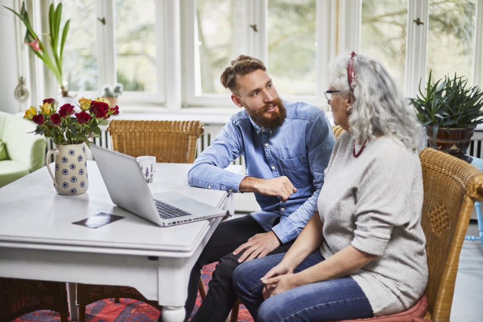 How to live harmoniously in a multi-generational household. (Getty Images)