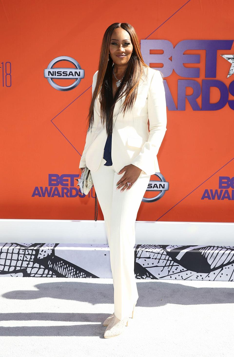 "<p>A white power suit will always come out on top. Especially when it's worn by Yolanda Adams.</p><span class=""copyright"">Photo: Bennett Raglin/Getty Images.</span>"