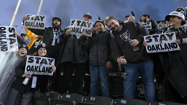 The Silver and Black is discussing the possibility of playing in Oakland for in 2019, and those conversations seem to be headed in the right direction.