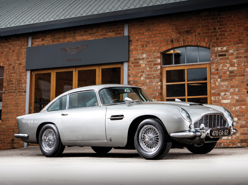James Bond Aston Martin DB5 up for RM Sotheby auction fecting $4-$6M.