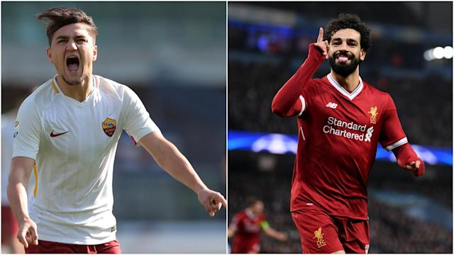 Mohamed Salah could have been playing for Roma against Liverpool on Tuesday, but Eusebio Di Francesco is happy to have Cengiz Under instead.