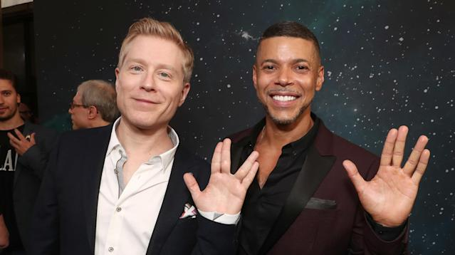 """When CBS's """"Star Trek: Discovery"""" makes its long-awaited debut Sept. 24, it will feature a same-sex couple played by two cast members of Broadway's """"Rent."""""""