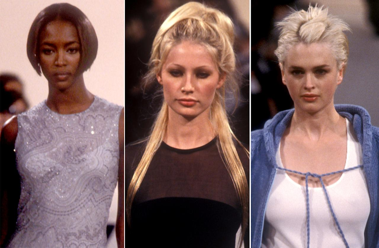 <p>Choppy bobs and piecey blondes were sooo 1997. (Photo: Fashion Anthology) </p>